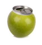 Fresh apple juice Stock Photography