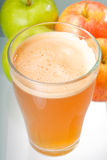 Fresh apple juice Stock Image