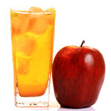 fresh apple juice Royalty Free Stock Image