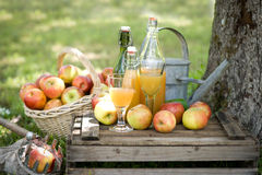 Fresh apple juice Royalty Free Stock Photography