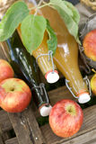 Fresh apple juice Stock Images