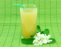 Fresh apple juice Stock Image