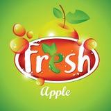 Fresh apple juice with fruit Royalty Free Stock Image