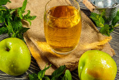 Fresh apple juice Royalty Free Stock Images