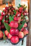 Fresh apple in the market Royalty Free Stock Photo