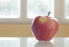 Fresh apple on the table Royalty Free Stock Photography