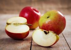 Fresh apples Stock Photos