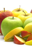 Fresh apples royalty free stock photo