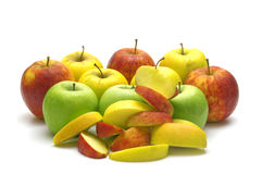 Fresh apples Stock Images