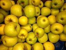 Fresh apples close-up Stock Images