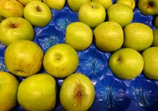 Fresh apples close-up Stock Photo