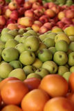 Fresh apples and grape-fruit Royalty Free Stock Images