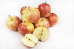 Fresh Apples Isolated Stock Photos