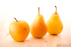 Fresh Apples And Pears Stock Photography