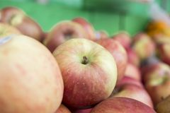 Pile of apples. Fresh apples in a pile royalty free stock images
