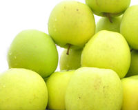 The fresh apples Royalty Free Stock Photography