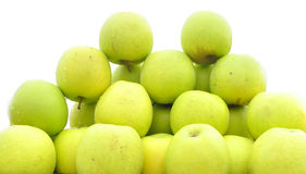 The fresh apples Royalty Free Stock Photo