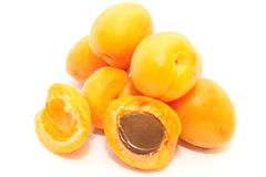 Fresh Apricot Stock Photo