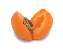 Fresh apricot, isolated Stock Images