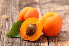 Fresh apricot Royalty Free Stock Image
