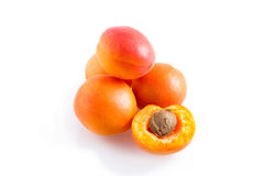 Fresh apricots Royalty Free Stock Photo