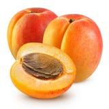 Fresh apricots Royalty Free Stock Photos