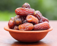 Fresh Arabian Dates Stock Photography