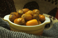 Fresh Arabic dates Stock Photo