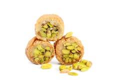 Fresh arabic sweets Royalty Free Stock Image