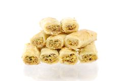 Fresh arabic sweets Royalty Free Stock Photography