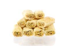 Fresh arabic sweets Royalty Free Stock Photography