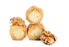 Fresh arabic sweets Stock Image