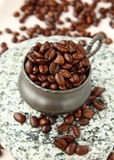 Fresh aromatic coffee beans Royalty Free Stock Photography