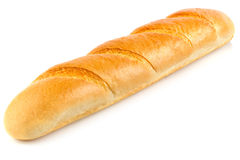 Fresh aromatic organic baguette. Royalty Free Stock Photography