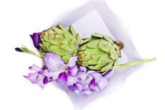 Fresh artichoke Royalty Free Stock Photo