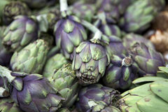Fresh artichokes Stock Photos