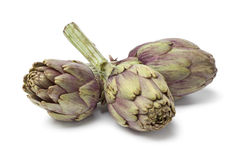 Fresh artichokes Stock Photo