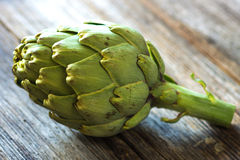 Fresh artichokes Royalty Free Stock Photos