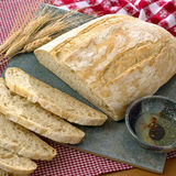 Fresh Artisan Bread Royalty Free Stock Photography