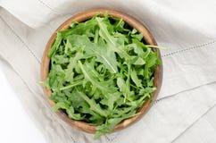 Fresh arugula salad Stock Images