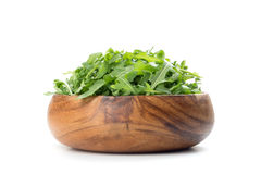 Fresh arugula salad in a bowl Stock Photos