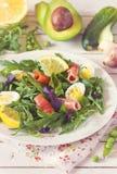 Fresh arugula salad. Stock Photography