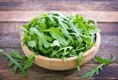 Fresh arugula salad Royalty Free Stock Images