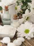 Natural fresh cosmetics fresh as spring royalty free stock photos