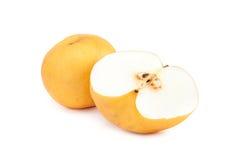 Fresh asian pear Stock Photos