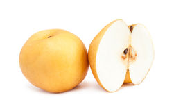 Fresh asian pear Stock Photo