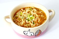 Fresh asian soup Royalty Free Stock Photos