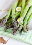 Fresh asparagus. Fresh green Asparagus as closeup Stock Photo