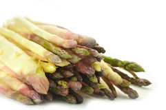 Fresh asparagus. The bunch of fresh asparagus Royalty Free Stock Images