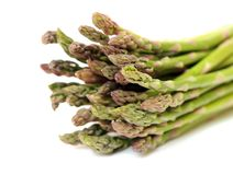 Fresh asparagus bunch Stock Photography